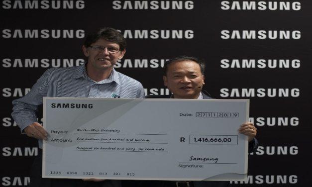 Samsung Doubles Multi-Million Rand Bursary