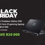 Acer launch incredible Black Friday deals that can save you up to R20,000!