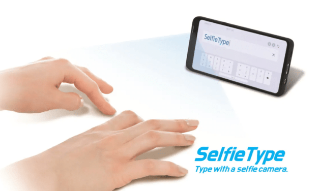 Samsung Set to Showcase Futuristic Keyboard, Allows You To Type Using Phone's Selfie Camera and AI