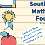 The 2020 Old Mutual South African Mathematics Olympiad entries are open