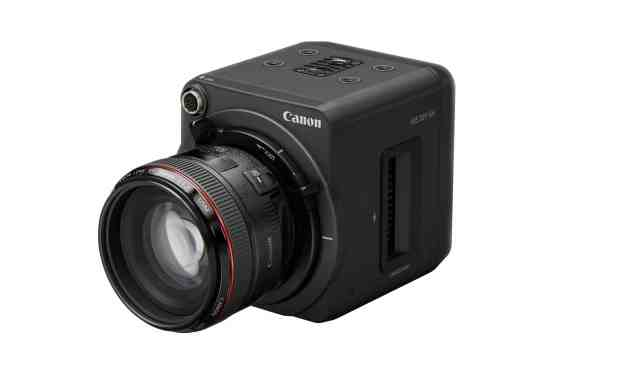The Canon ME20F-SH as a recipient of the 2020 Technology & Engineering Emmy® Award