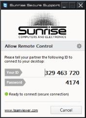 Remote Support Windows Step 4