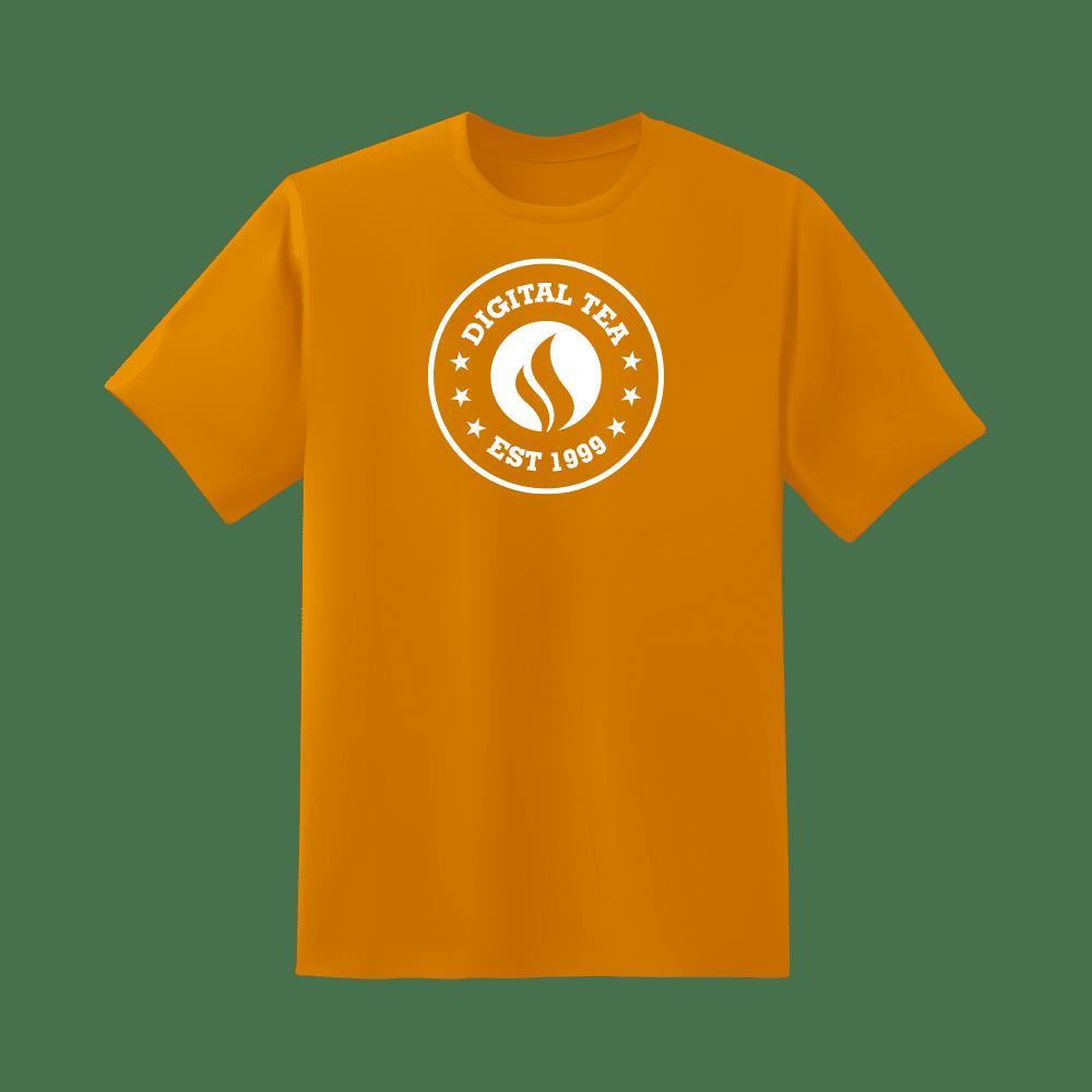 DT tshirt orange