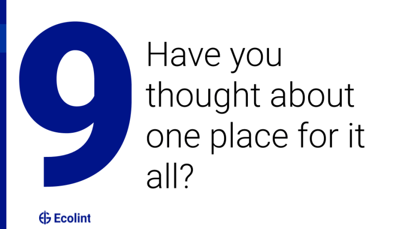Have you thought about one place for it all?