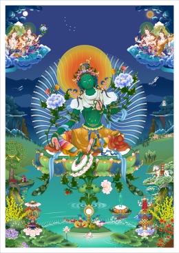 Green Tara Tushita v1_5 TN