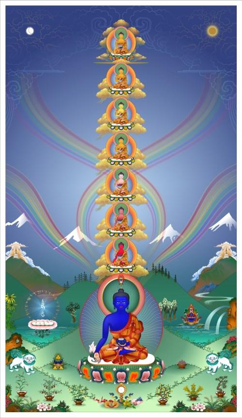 Eight Medicine Buddhas Tower FPMT