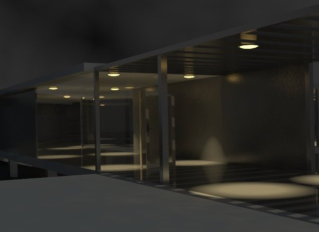 Rendering2 - Exterior (Night)