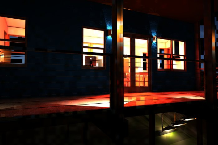 RGB3 - Exterior Night Scene