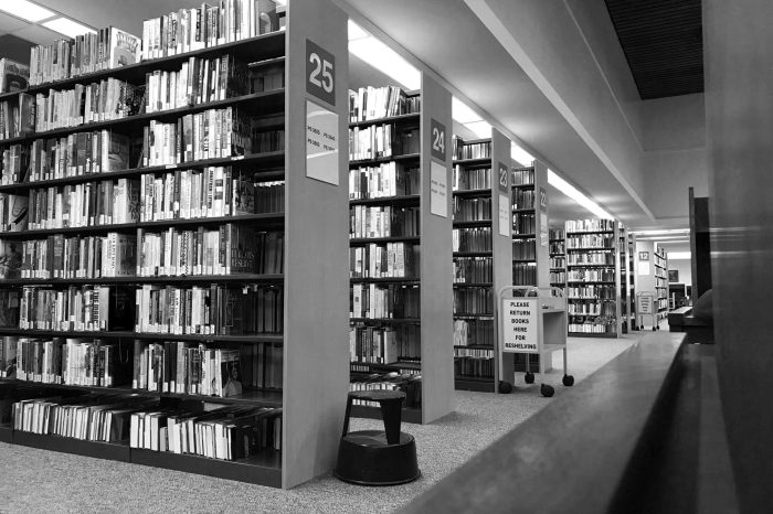 Archi135_Library_BW
