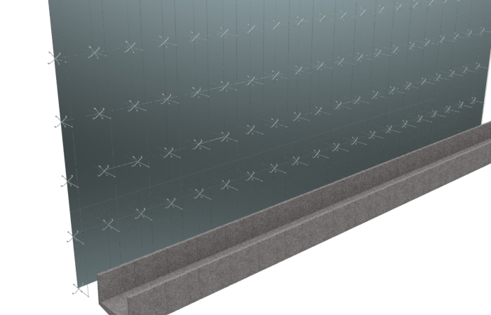 Exercise 207 (Bridge and Glass Wall)