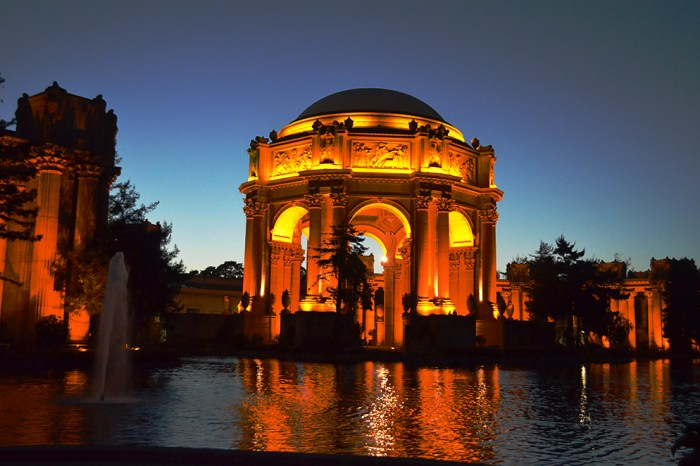 Architecture 104 SF Palace of Fine Arts-Curves