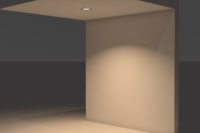 Can Light Rendering