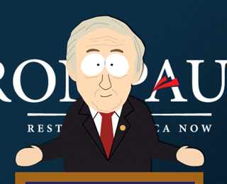 South Park Ron Paul