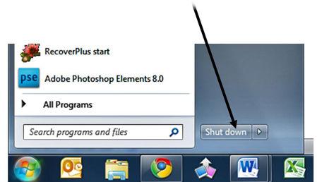 Shut down A Computer System