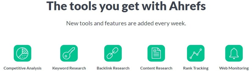 Ahrefs - best tool for backlink analysis
