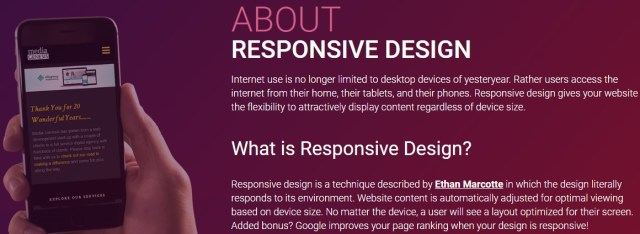 Responsive design checker