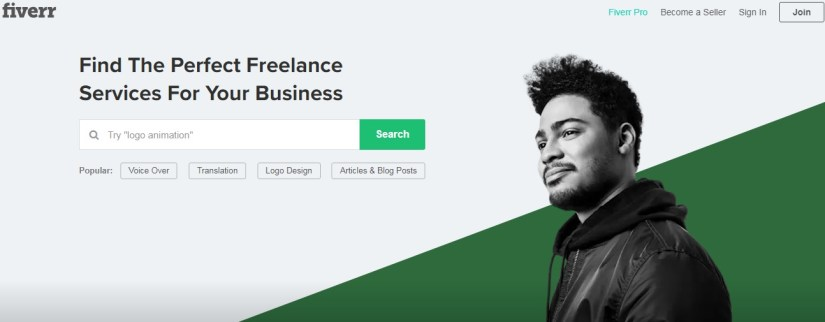Fiverr - How to make money with your blog in 2019