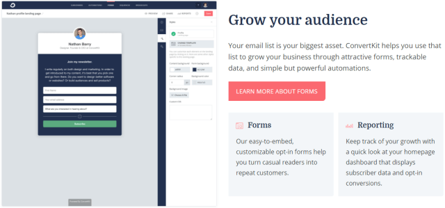 Blogging Tools: ConvertKit