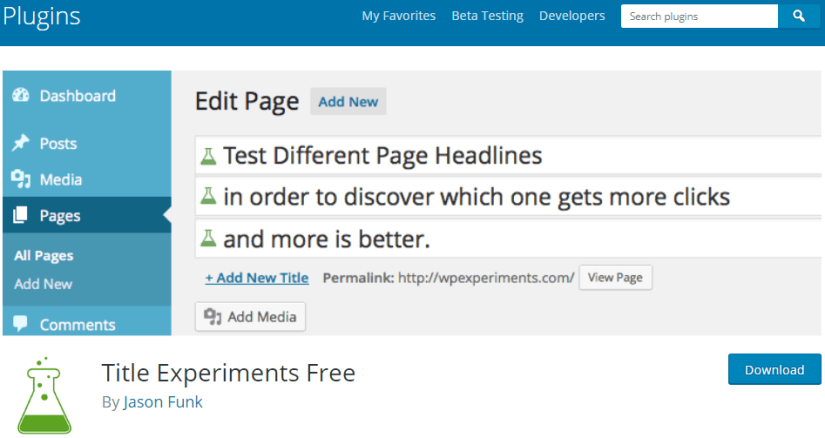 Blogging Tools: Edit Page