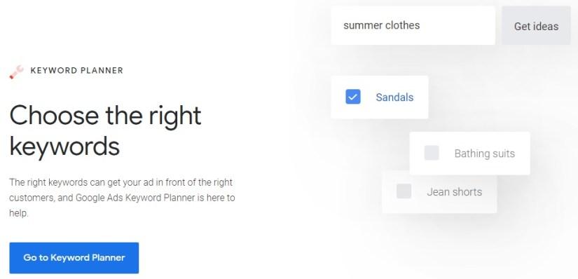 Google Keyword Planner: Free Keyword Research Tool