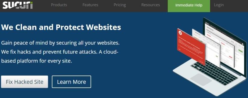 Sucuri: Best Security Plugin for WordPress Blogs
