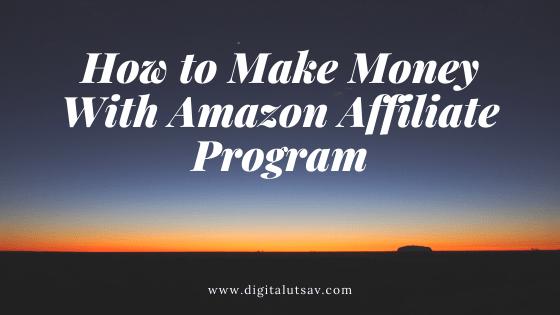 Comment gagner de l'argent avec le programme d'affiliation Amazon