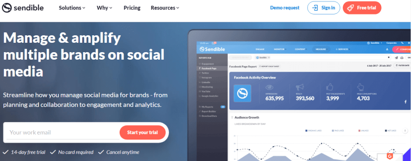Sendible: Social Media Management Software