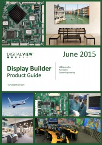 Grapic of Digital View LCD Controller Product Guide June 2015 - front cover