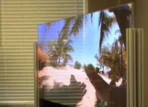 Transparent OLED - front