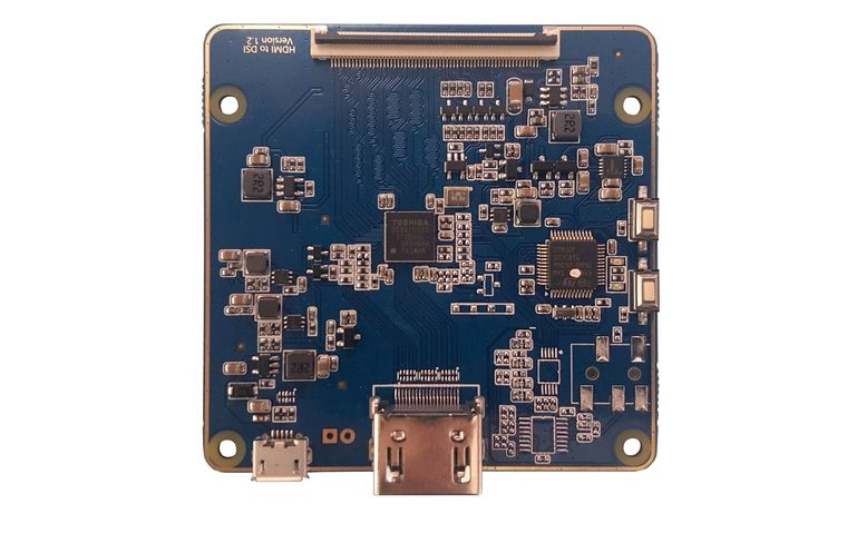 Digital View MIPI mip-1000 lcd controller board