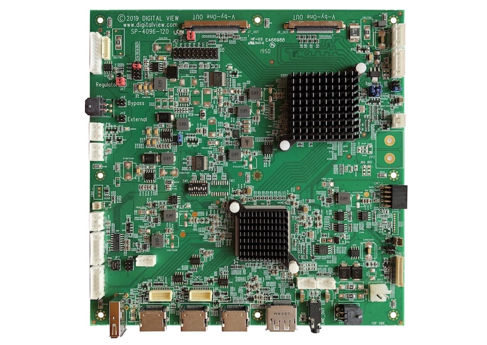 SP-4096-120 LCD controller board