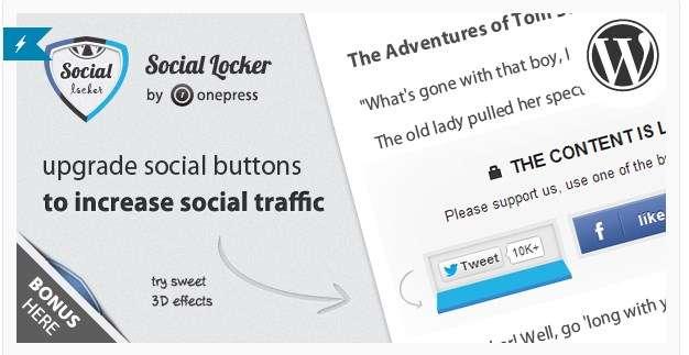 social locker plugin