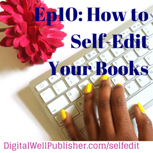 How to Self-Edit Your Books