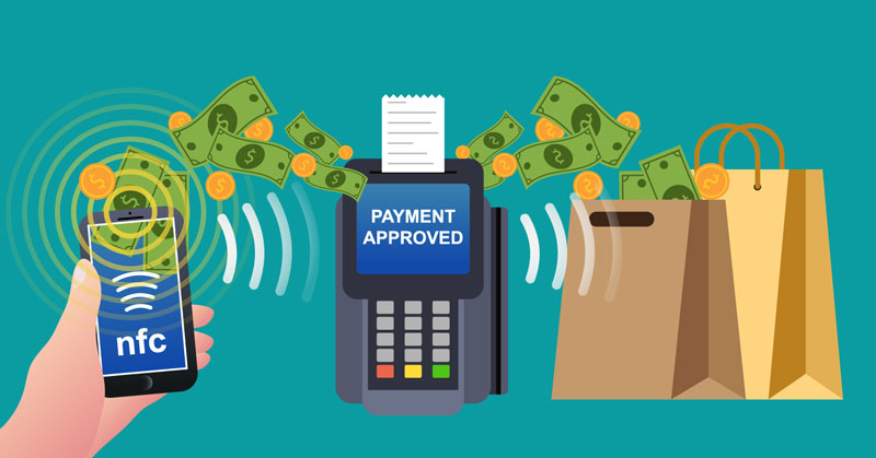 payments boost sales
