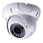 "700 TVL 1/3"" Sony Effio-P 960H True WDR 0.0003 Lux, Colour CCTV Dome camera, 30 M IR range"