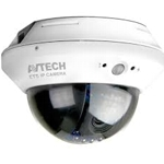1.3MP IP Dome Camera 10M IR Night-Vision, 3.8mm lens