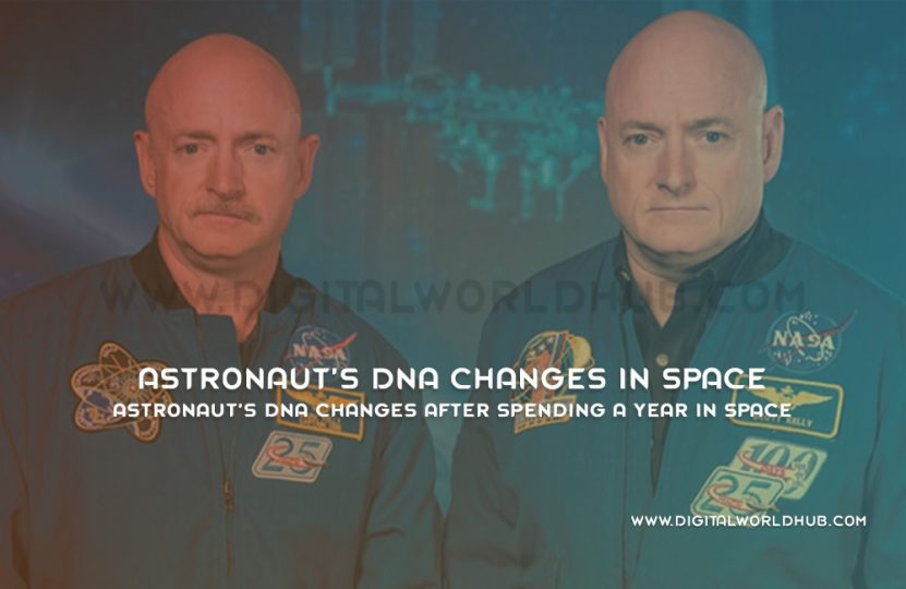 Astronaut's DNA Changes After Spending A Year In Space | Digital World Hub