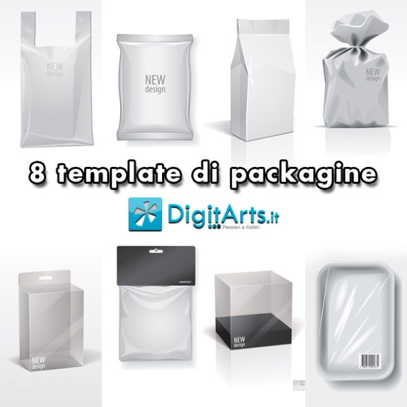 8 template packagine