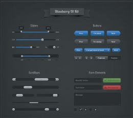 Blaubarry UI kit