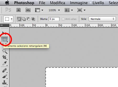 Creare un bigliettino da visita con Photoshop - 003