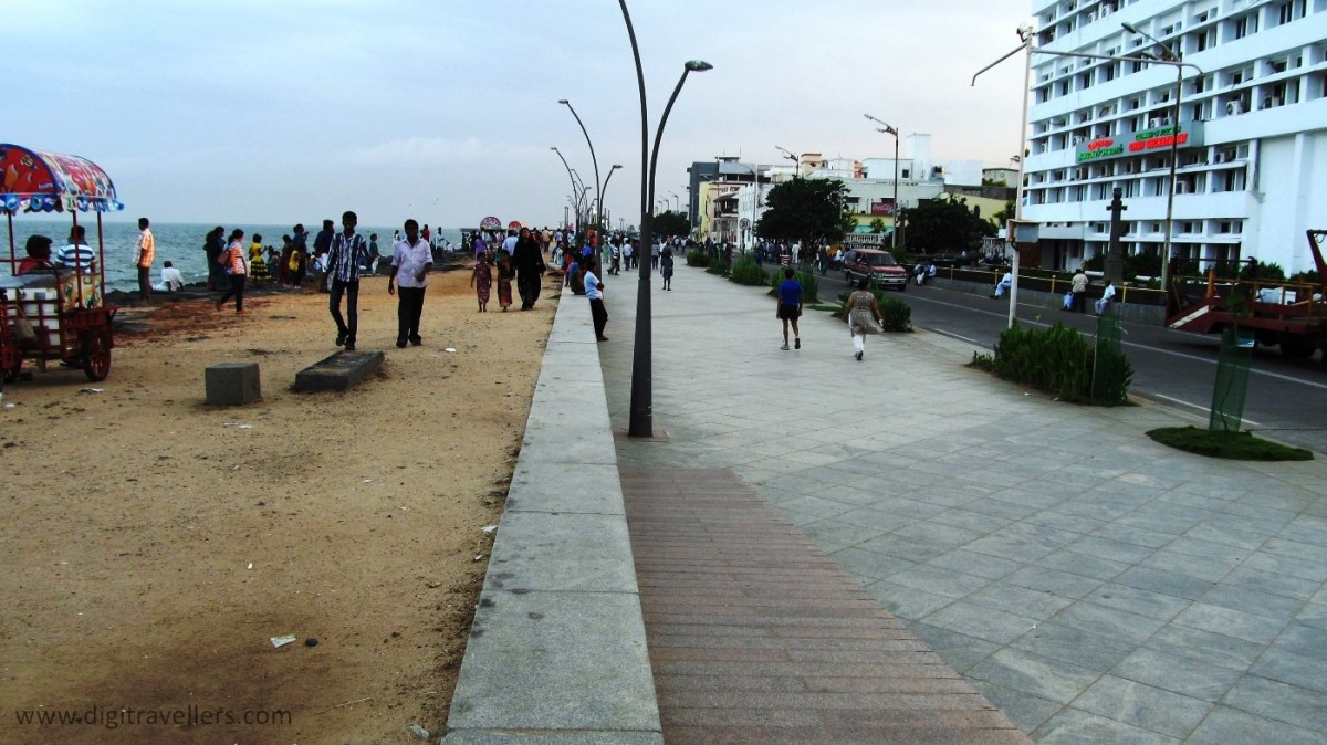 An Evening in Pondicherry