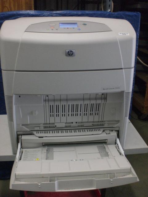 Hp Laserjet 5500n Color Laser Printer Upto 11x17 400