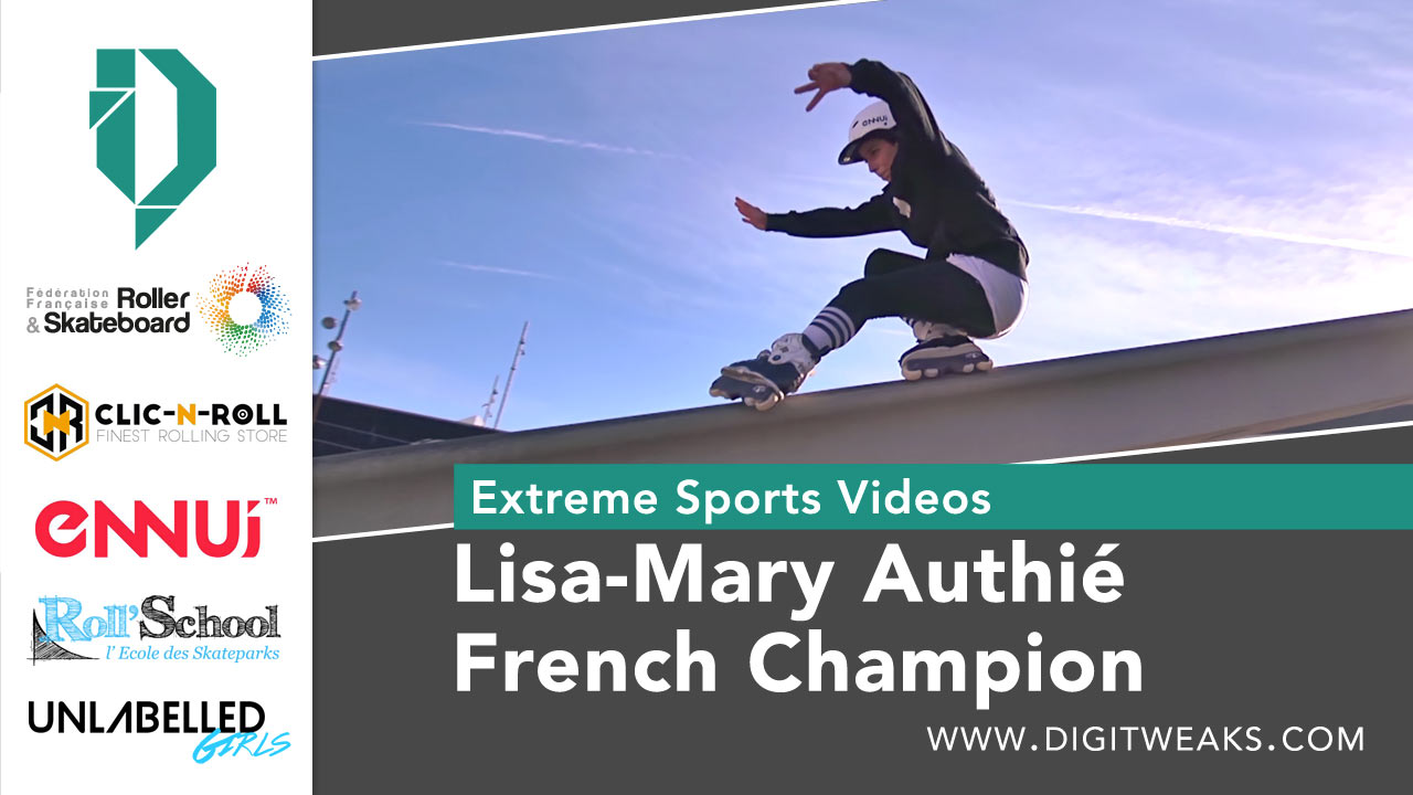 Lisa Mary Authié - French National Champion in Barcelona