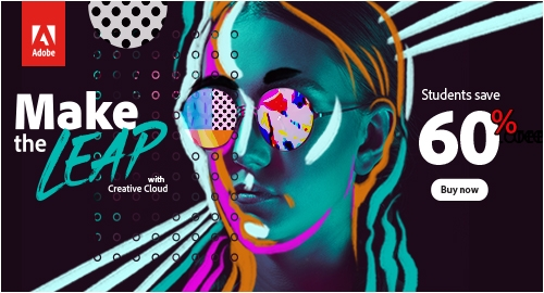 Adobe Creative Cloud, the most complete suite of softwares for creatives. 7-day free trial available.