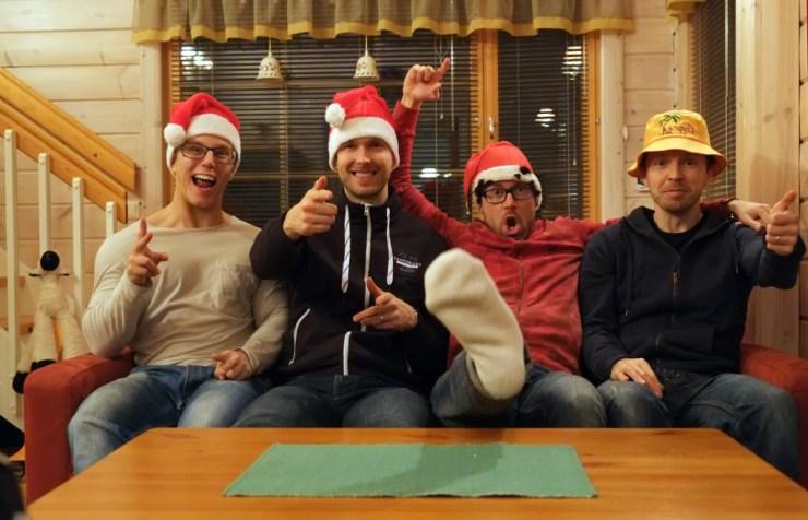 Rauhallista joulua ja innostavaa vuotta 2014!
