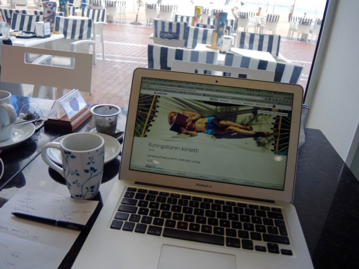 Työntekoa Las Palmasissa