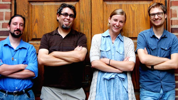 Members of the DLF/DCC Beta Sprint team