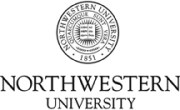 Northwestern University Logo_black
