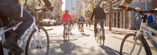 Cycle City Tours Rolls into Gastown