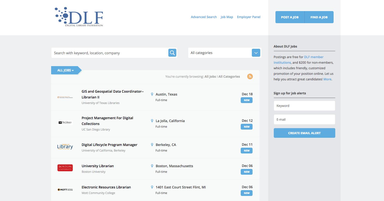 Job service website